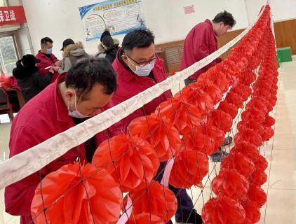 """猜灯谜·嘱安全·乐""""宵""""遥:八亿橡胶公司开展庆元宵节活动"""