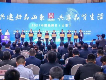 """""""中国品牌日"""",公司成功入围山东省高端品牌培育企业名单"""