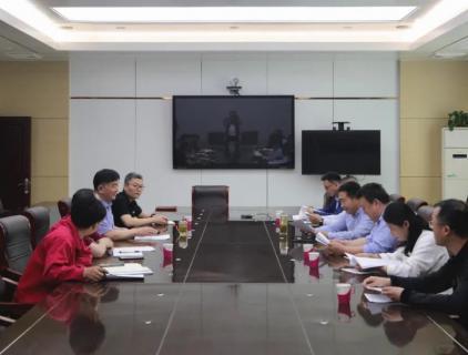 枣庄市市场监督管理局领导到枣矿橡胶公司检查计量工作